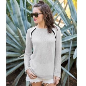 MARINE LAYER | Virginia Varsity Stripe Sweater S